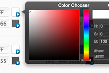 Color Chooser Interface